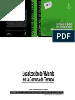 Localizacion de Viviendas en Temuco
