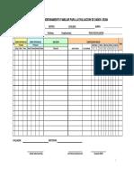 Formato de Campo de Evaluacion de Daños