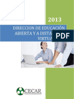 Programa de Licenciatura virtual