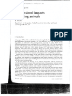 1998 The Erosional Impacts of Grazing Animals