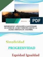 Memorias. Aspectos Importantes de La Reforma Tributaria Ley 1819 - Año 2017