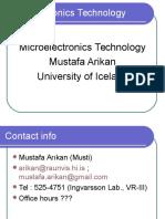 Microelectronics Technology