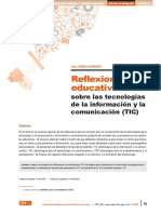 Cabero J - Reflexiones educativa sobre las TICs.pdf