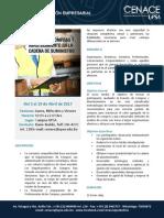Gestion de Compras y Abastecimiento en La Cadena de Suministro Calendario