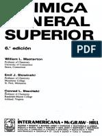 Quimica General Superior - Masterton, Slowinski, Stanitski (Ed6 McGraw-Hill)