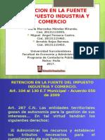 Rete-Ica Acuerdo 050 de 2009