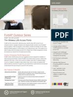 FortiAP Outdoor Series