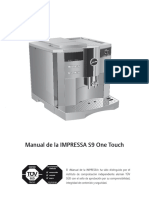 Manual Jura Impressa s9 Espanol