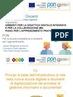 Ambienti Per La Didattica Digitale Integrata (#4, 7) Pon f3 2 Aghemo
