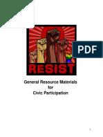 AltGov Activism Compilation