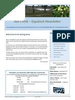 Axe Creek Eppalock New - Issue 52