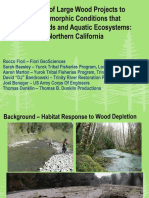 2012 Implementation of Large Wood Projects to Benefit Salmonids