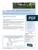 Axe Creek & Eppalock News - Issue 54