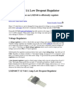 LM2940 12V 1A Low Dropout Regulator