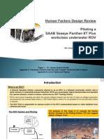 HF Design Review (ROV Piloting)