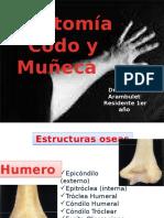 anatomia de codo y muñeca.pptx
