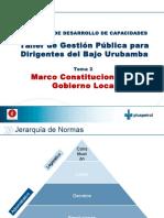 1 M1T2 Marco Constitucional Del Gobierno Local