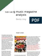 Kerrang Music Magazine Analysis