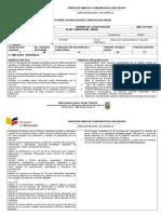 Formato Plan Anual 8 Egb - 2016