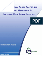 Understanding Power Factor and Input Current Harmonics in Switch-mode Power Supplies