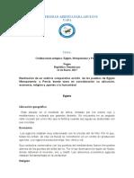 SOC-218 Historia de La Civilización Antigua Tarea 1