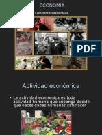 01 Economía - Conceptos Fundamentales