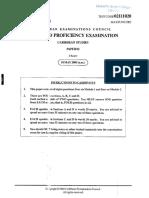 CAPE- Caribbean Studies- Paper 02- 2005