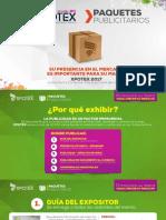 Paquetes Publicitarios Xpotex 2017