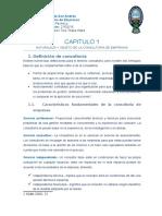 capitulo 1 NATURALEZA Y OBJETO DE LA CONSULTORIA DE EMPRESAS