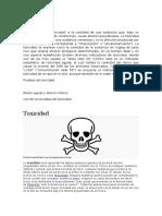 Biotoxic idad