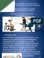 Factores Del Entorno Que Afectan La Estabilidad y