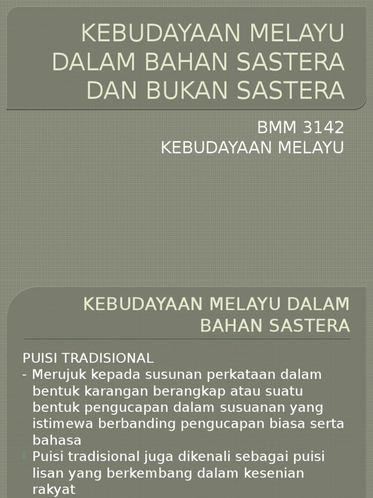 Kebudayaan Melayu Cgu Elly