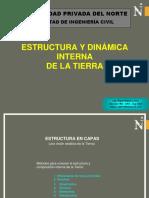 Estructura y Dinamica Interna de La Tierra