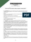 I. Employment Agreement