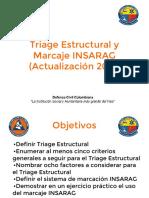 Triage Estructural y Marcaje INSARAG