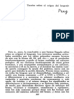 Teorias Sobre El Origen Del Lenguaje Cap.20