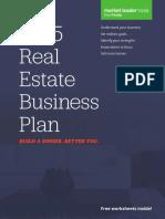 real estate business plan
