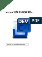 Conceptos basicos en Dev C ++