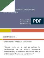 Introducción Econometría