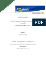 Actividad 10 Estudio de Caso Liquidación de Prestaciones Sociales