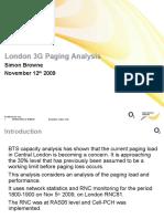 Paging Capacity Analysis