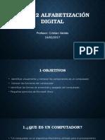 Clase 2 Alfabetización Digital
