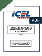 LC-301 - Medidor RLC Capacímetro e Resistência ICEL.pdf