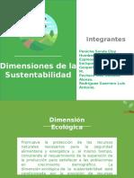 Tarea 1 Dimensiones de La Sustentabilidad