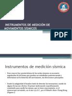 Instrumento medicion sismica