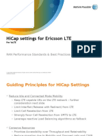 HiCap Settings for Ericsson LTE Rev D