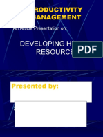 Productivity Mgt. Presentation