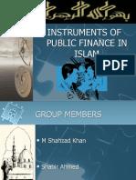 Public Finance in Islam