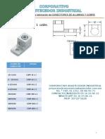 Catalogo Zapatas de aluminio y zapatas electricas