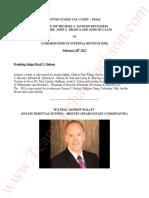Andrew Wallet Transcripts. Michael Jackson Exe. Branca V IRS